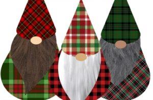 Image: Three Christmas Elves