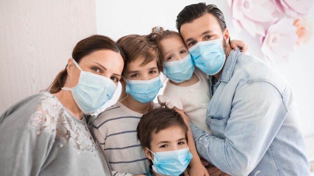 Image: Masked Family